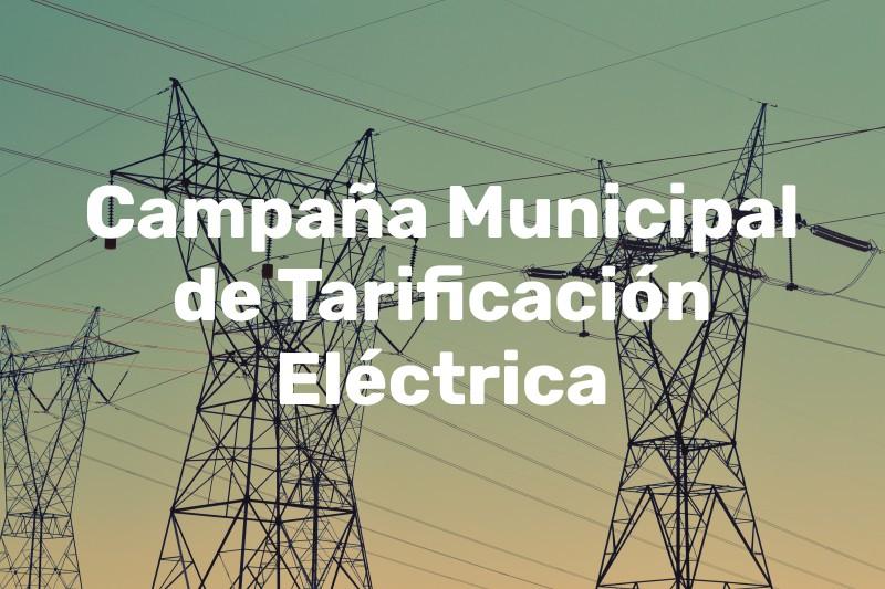 Campaña de Tarificación Eléctrica