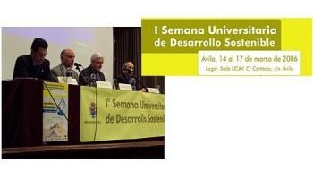 I Semana Universitaria de Desarrollo Sostenible