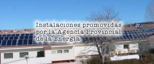 Instalaciones Promovidas por la Agencia